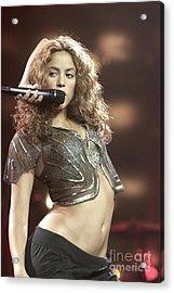 Shakira Acrylic Print by Concert Photos