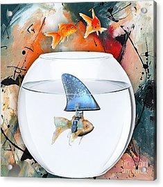 Shark Acrylic Print by Marvin Blaine
