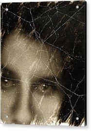 She Died Before Your Eyes Acrylic Print by Georgiana Romanovna