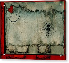 Sheep Or Not So - Bb06 Acrylic Print by Variance Collections