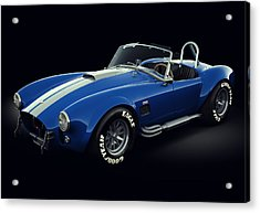 Shelby Cobra 427 - Bolt Acrylic Print by Marc Orphanos