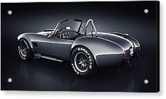 Shelby Cobra 427 - Venom Acrylic Print by Marc Orphanos
