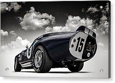 Shelby Daytona Acrylic Print by Douglas Pittman