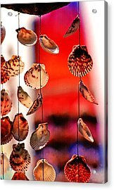 Shell Mobile Acrylic Print by Mike Flynn