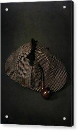 Sherlock Holmes Acrylic Print by Joana Kruse