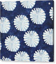 Shibori IIi Acrylic Print by Elizabeth Medley