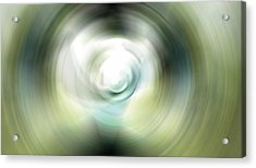 Shimmer - Energy Art By Sharon Cummings Acrylic Print by Sharon Cummings