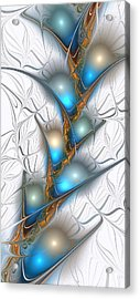 Shimmering Lights Acrylic Print by Anastasiya Malakhova