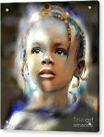 Shine On Me Acrylic Print by Bob Salo