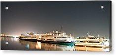 Ship Acrylic Print by Gandz Photography