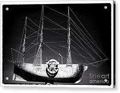 Ship Acrylic Print by John Rizzuto