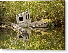 Shipwreck Silver Springs Florida Acrylic Print by Christine Till