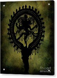Shiva Acrylic Print by Cinema Photography