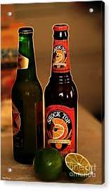 Shock Top Acrylic Print by Cheryl Young