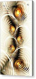 Shock Waves Acrylic Print by Anastasiya Malakhova