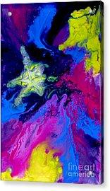 Shooting Star Acrylic Print by Bozena Simeth