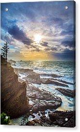Shore Acres Storm Acrylic Print by Robert Bynum