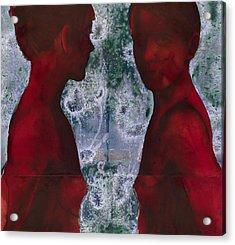 Shoreline Acrylic Print by Graham Dean