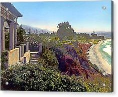Shoreline Acrylic Print by Terry Reynoldson