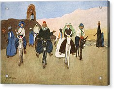 Should Women Ride Astride?, From The Acrylic Print by Lance Thackeray