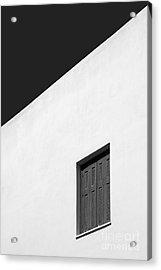 Shuttered Window Acrylic Print by Rod McLean