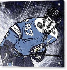 Sidney Crosby Acrylic Print by Nate Gandt