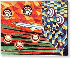 Siegfried's Sword Acrylic Print by Sergey Molchanov