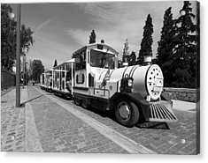 Sightseeing Train Acrylic Print by George Atsametakis
