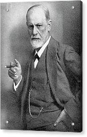 Sigmund Freud Acrylic Print by Universal History Archive/uig