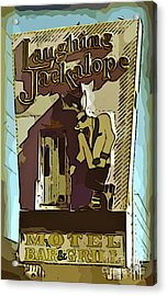 Sign Of The Jackalope Acrylic Print by John Malone
