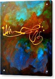 Signature Acrylic Print by Nancy Merkle
