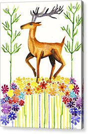 Signs Of Spring Acrylic Print by Cat Athena Louise