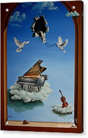 Silent Symphony Acrylic Print by Svetoslav Stoyanov