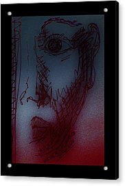 Silent Witness Acrylic Print by Mimulux patricia no