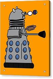 Silly Robot Acrylic Print by Jera Sky