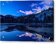Silver Lake Acrylic Print by Dustin  LeFevre