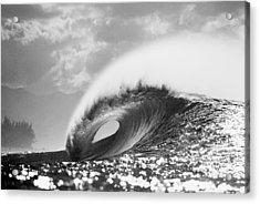 Silver Peak Acrylic Print by Sean Davey