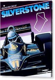 Silverstone Acrylic Print by Gavin Macloud