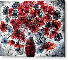 Simfoni Of Love Acrylic Print by Leon Zernitsky