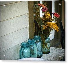 Simple Life 1 Acrylic Print by Julie Palencia
