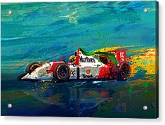 Simply The Best Acrylic Print by Alan Greene