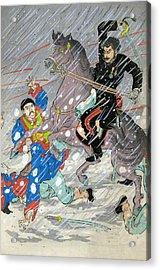 Sino Japanese War, C1895 Acrylic Print by Granger