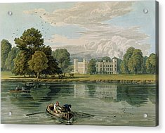 Sion House, Engraved By Robert Havell Acrylic Print by William Havell