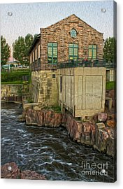 Sioux Falls - 05 Acrylic Print by Gregory Dyer