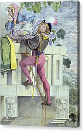 Sketch For The Passions Love Acrylic Print by Richard Dadd
