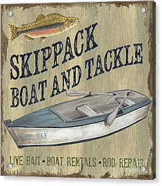 Skippack Boat And Tackle Acrylic Print by Debbie DeWitt
