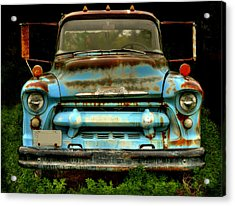 Sky Blue And Still Cool Acrylic Print by Thomas Young