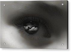 Sky Eye Acrylic Print by Kristie  Bonnewell