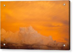 Sky Fire 001 Acrylic Print by Tony Grider