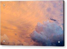 Sky Fire 003 Acrylic Print by Tony Grider